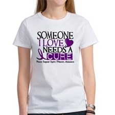 Needs A Cure CYSTIC FIBROSIS Tee