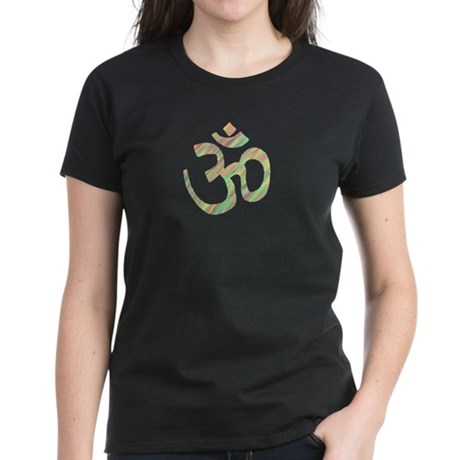 Om symbol Women's Dark T-Shirt