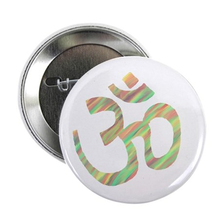 "Om symbol 2.25"" Button (10 pack)"