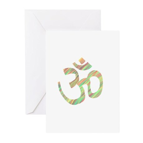 Om symbol Greeting Cards (Pk of 10)