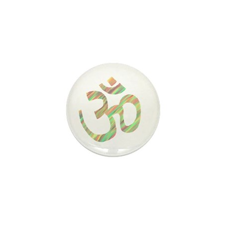 Om symbol Mini Button