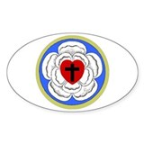 Luther Seal 1 Oval Sticker (10 pk)