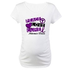 PEACE LOVE CURE Alzheimer's Disease Shirt