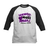 PEACE LOVE CURE Alzheimer's Disease Tee