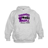 PEACE LOVE CURE Alzheimer's Disease Hoody