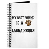 My best friend is a LABRADOODLE Journal