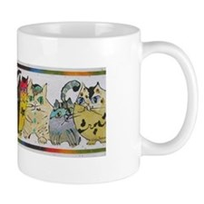 Uptown Cats 4 Coffee Mug