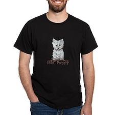 Mud Puppy Westie Terrier T-Shirt