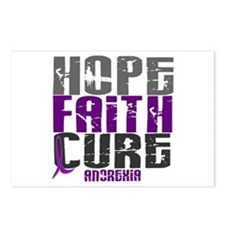 HOPE FAITH CURE Anorexia Postcards (Package of 8)