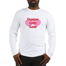 Grandma Loves Gavin Long Sleeve T-Shirt