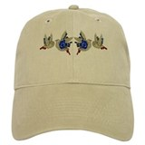 Rhinestone Blue Birds Pins Hat Baseball Cap