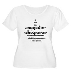 Computer Women's Plus Size Scoop Neck T-Shirt