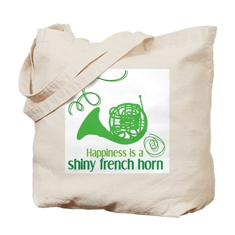 Shiny French Horn Tote Bag