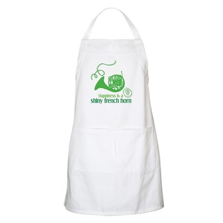 Shiny French Horn BBQ Apron