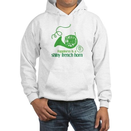 Shiny French Horn Hooded Sweatshirt