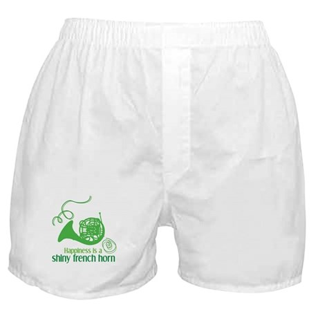 Shiny French Horn Boxer Shorts