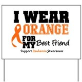 IWearOrange Best Friend Yard Sign