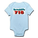 Brooklyn 718 Infant Creeper