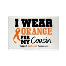 IWearOrange Cousin Rectangle Magnet
