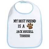 My best friend is a JACK RUSSELL TERRIER Bib