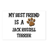 My best friend is a JACK RUSSELL TERRIER Postcards
