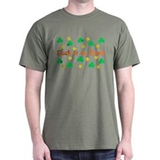 """Luck of the Irish"" T-Shirt"