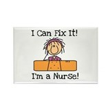 Fix It Nurse Rectangle Magnet (10 pack)
