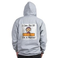 Fix It Nurse Zip Hoodie