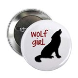 "Wolf Girl 2.25"" Button"