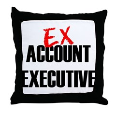 EX Account Executive Throw Pillow