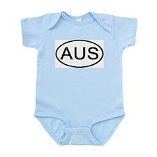 Australia - AUS - Oval Infant Creeper