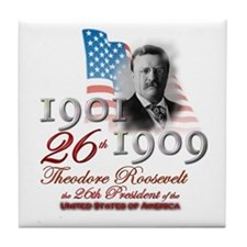 26th President - Tile Coaster
