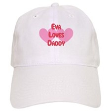 Eva Loves Daddy Baseball Cap