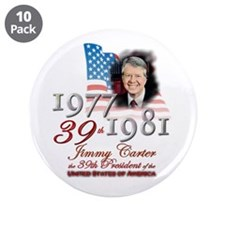 "39th President - 3.5"" Button (10 pack)"
