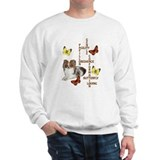 papillon crossword puzzle Sweatshirt