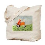 Funny Allis chalmers Tote Bag