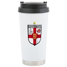 England Soccer Shield Travel Mug