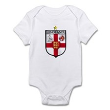 England Soccer Shield Infant Bodysuit
