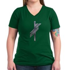 Viking Rune - Luck-silver Shirt