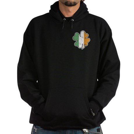 Vintage Irish Shamrock Hoodie (dark)