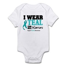 I Wear Teal Warriors Infant Bodysuit