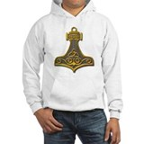Thor's Hammer-gold Jumper Hoody