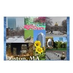 Boston, MA Photo Collage by Celeste Sheffey Postca