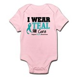 IWearTeal For The Cure Infant Bodysuit