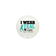 IWearTeal For The Cure Mini Button (100 pack)