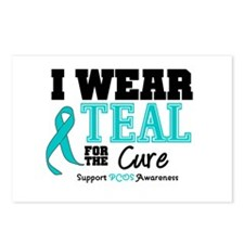 IWearTeal For The Cure Postcards (Package of 8)