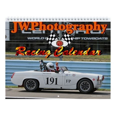MG Racing Wall Calendar