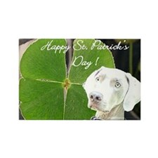 Funny Weimaraner holiday Rectangle Magnet (100 pack)