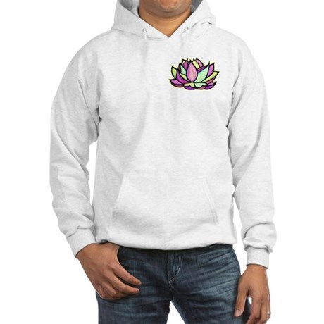 painted lotus flower Hooded Sweatshirt