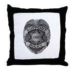 Support Our Police Throw Pillow